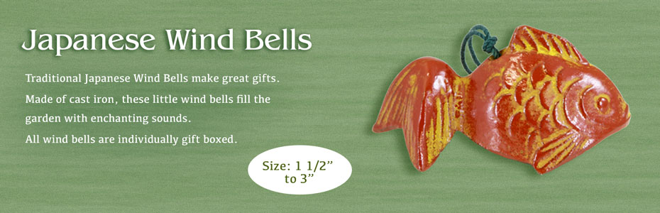 Wholesale Garden Gifts Japanese Wind Bells