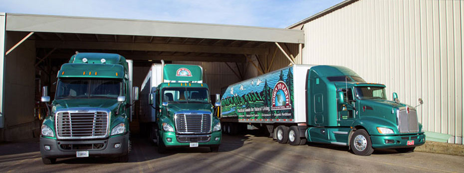 Down To Earth Distributors Truck Fleet