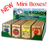 Mini Organic Fertilizer Boxes