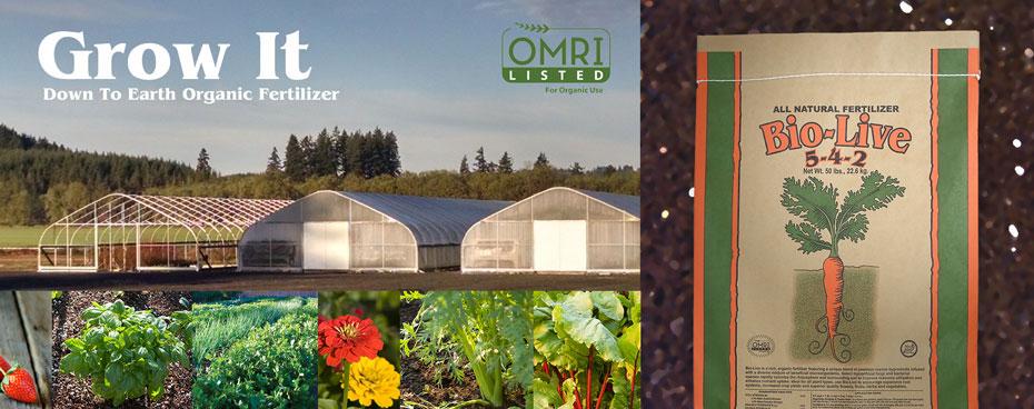 Grow Organic with Bio-Live