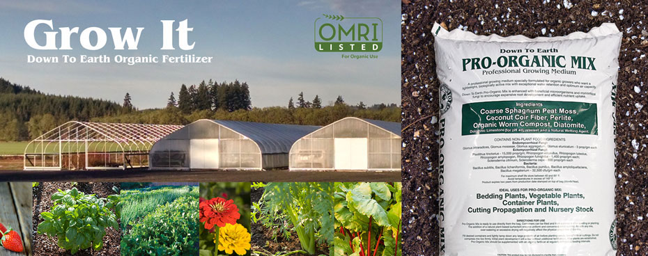 Organic Fertilizer Wholesale Omri Listed Pro-Organic